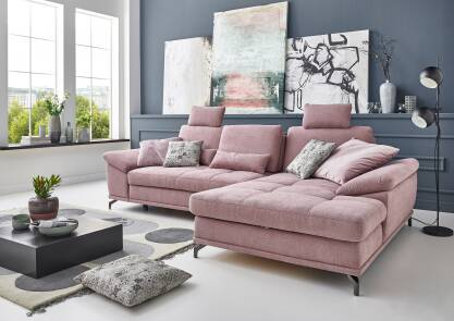 Corner sofa Costello L-form up from 4512zł